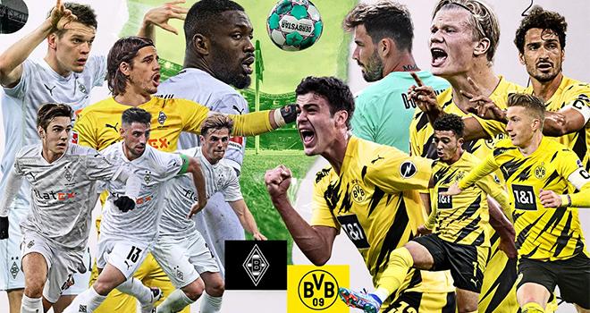 Gladbach vs Dortmund, lịch thi đấu bóng đá, trực tiếp bóng đá, Cúp quốc gia Đức