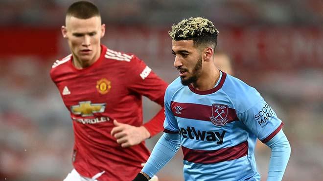 Video clip bàn thắng trận MU vs West Ham