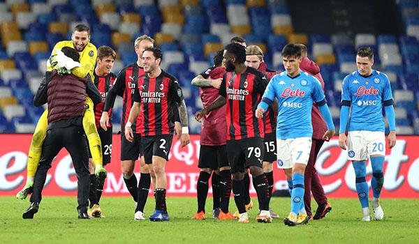 Milan vs Napoli, trực tiếp bóng đá, lịch thi đấu bóng đá, Serie A
