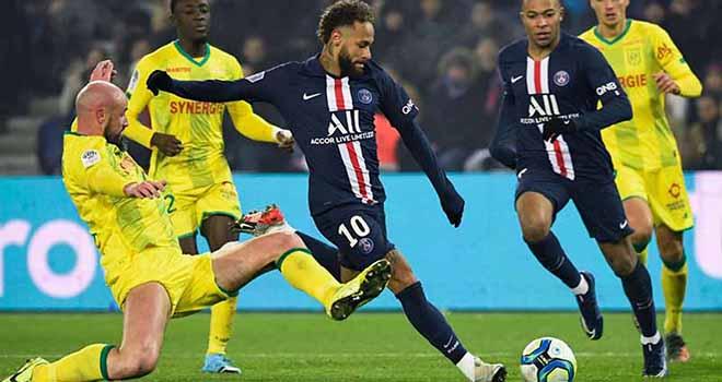 PSG vs Nantes, lịch thi đấu bóng đá, trực tiếp bóng đá