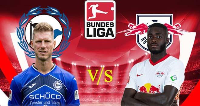 Bielefeld vs Leipzig, trực tiếp bóng đá, lịch thi đấu bóng đá, Bundesliga