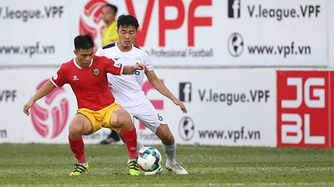 Lịch thi đấu bóng đá hôm nay. Trực tiếp Bình Dương vs Hải Phòng, Hà Tĩnh vs HAGL. VTV6, VTC3