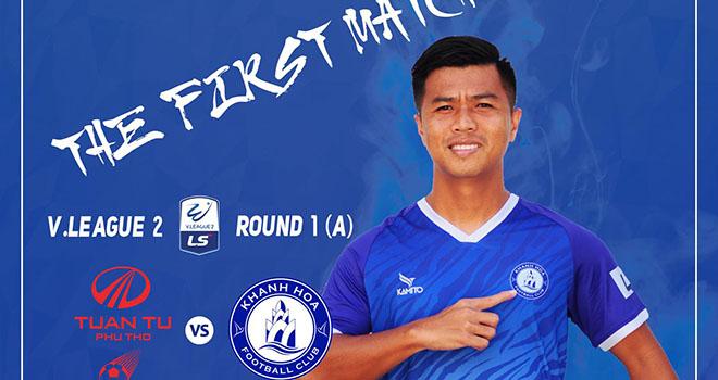 Phú Thọ vs Khánh Hòa, trực tiếp bóng đá, lịch thi đấu bóng đá, TTTV