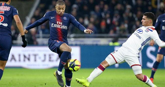 Lyon vs PSG, lịch thi đấu bóng đá, trực tiếp bóng đá, Ligue 1