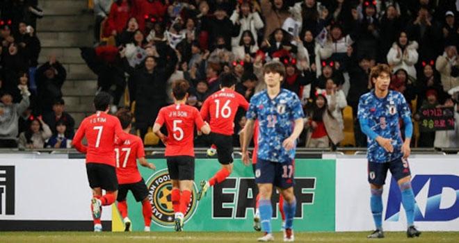 Nhật Bản vs Hàn Quốc, trực tiếp bóng đá, giao hữu ĐTQG, trực tiếp Nhật Bản vs Hàn Quốc