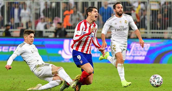 Video Atletico vs Real Madrid, Video clip bàn thắng trận Atletico vs Real Madrid, Kết quảbóng đá Tây Ban Nha. Kết quảReal Madrid đấu với Atletico. Bảng xếp hạng La Liga