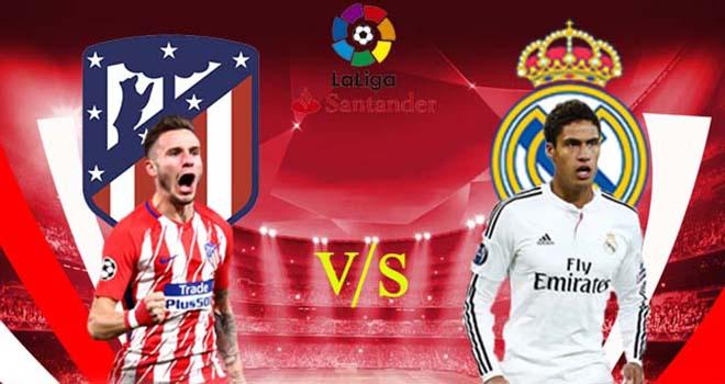 Atletico vs Real Madrid, lịch thi đấu bóng đá, trực tiếp bóng đá, La Liga, BĐTV