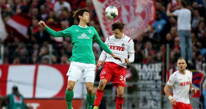Cologne vs Bremen, trực tiếp bóng đá, lịch thi đấu bóng đá, Bundesliga