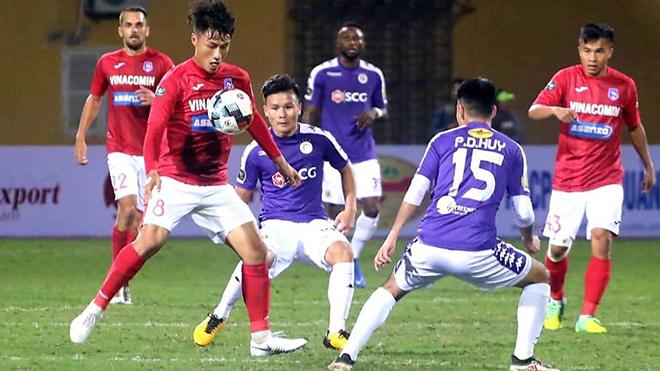 Hà Nội vs Quảng Ninh, trực tiếp bóng đá, lịch thi đấu bóng đá