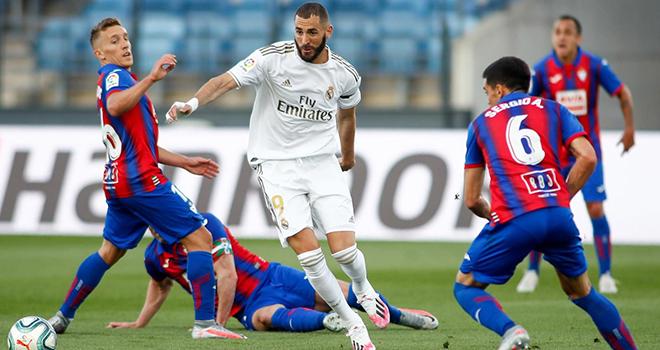 Real Madrid vs Eibar, trực tiếp bóng đá, lịch thi đấu bóng đá, La Liga