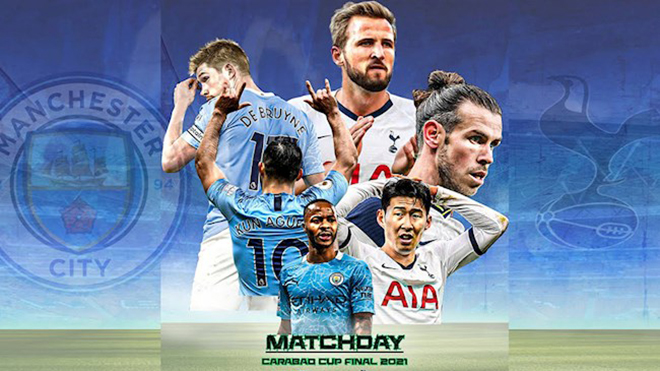 Video clip bàn thắng trận Man City vs Tottenham