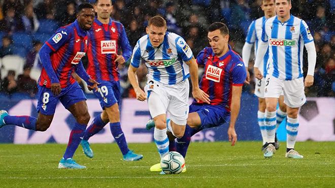 Eibar vs Sociedad, lịch thi đấu bóng đá, trực tiếp bóng đá