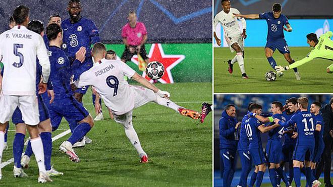 Kết quả bóng đá, Real Madrid vs Chelsea, Kết quả bán kết Cúp C1, Kết quả Cúp C1, kết quả Real Madrid vs Chelsea, video Real Madrid vs Chelsea, bán kết Champions League