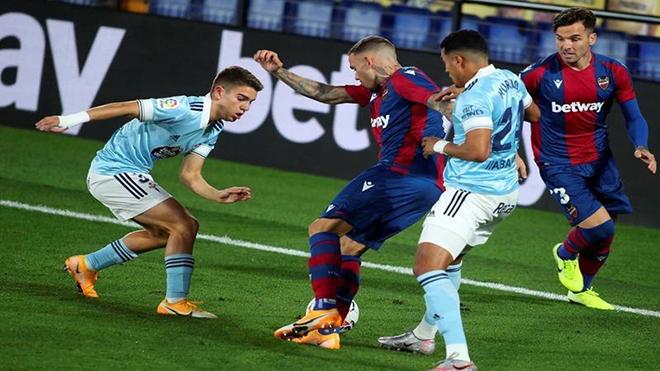 Celta Vigo vs Levante, lịch thi đấu bóng đá, trực tiếp bóng đá, La Liga, Bđtv