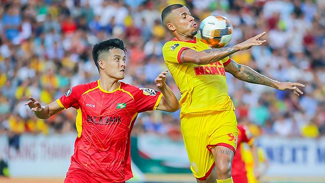 Lịch thi đấu bóng đá hôm nay. Trực tiếp Nam Định vs SLNA. VTV6, BĐTV, VTC3