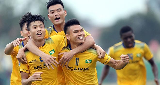 Nam Định vs SLNA, trực tiếp bóng đá, VTV6, lịch thi đấu bóng đá