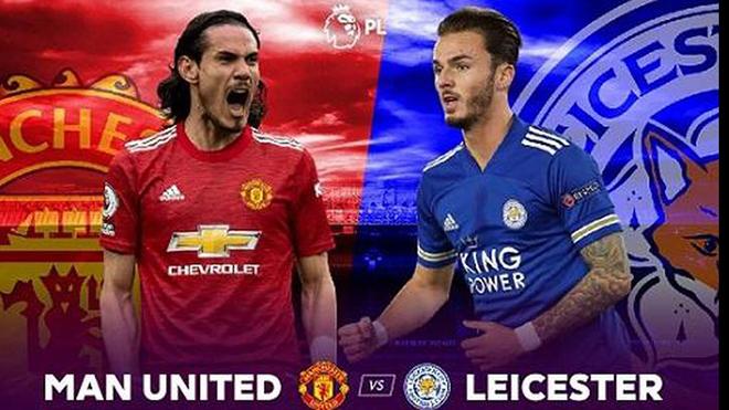 Lịch thi đấu bóng đá hôm nay. Trực tiếp MU vs Leicester. K+, K+PM