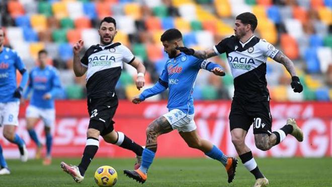 Napoli vs Udinese, trực tiếp bóng đá, lịch thi đấu bóng đá, serie a, fpt