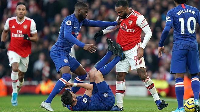 Lịch thi đấu bóng đá hôm nay. Trực tiếp Chelsea vs Arsenal. K+, K+PM