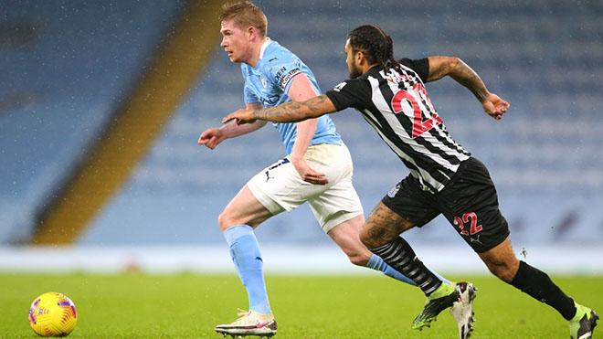 Lịch thi đấu bóng đá hôm nay. Trực tiếp Newcastle vs Man City. K+, K+PM
