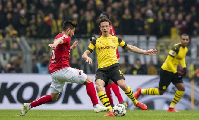 trực tiếp bóng đá, lịch thi đấu bóng đá, Mainz vs Dortmund, VTV6, Bundesliga