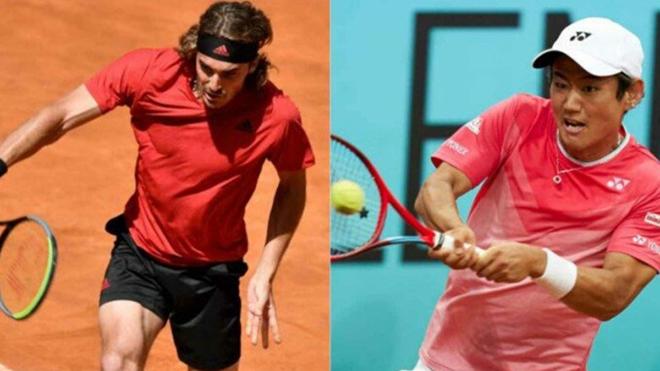 Lịch thi đấu tennis, Trực tiếp tennis, TTTV, Nishioka vs Tsitsipas, Lyon Open, trực tiếp Nishioka vs Tsitsipas, Tsitsipas vs Nishioka, lịch thi đấu tứ kết Lyon Open 2021