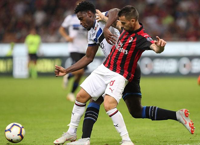lịch thi đấu bóng đá, trực tiếp bóng đá, atalanta vs Milan