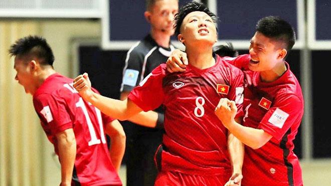 futsal Việt Nam, Việt Nam vs Lebanon, trực tiếp bóng đá, play-off World Cup 2021