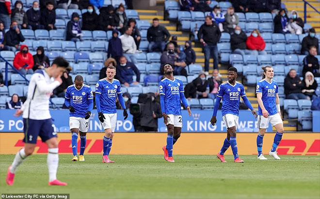 Leicester đã lỡ hẹn với cúp C1 mùa thứ hai liên tiếp