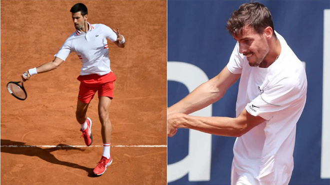 Kết quả tennis 25/5, sáng 26/5: Djokovic vào vòng ba, Verdasco thẳng tiến