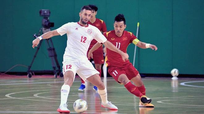 Lịch thi đấu bóng đá hôm nay. Trực tiếp futsal Lebanon vs Việt Nam. BĐTV