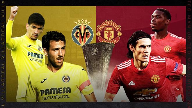 Lịch thi đấu bóng đá hôm nay. Trực tiếp MU đấu với Villarreal. K+, K+PM