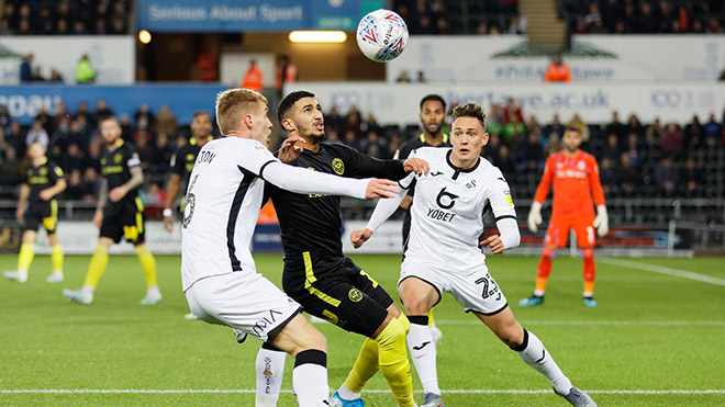 Lịch thi đấu bóng đá, trực tiếp bóng đá, Brentford vs Swansea, play-off thăng hạng
