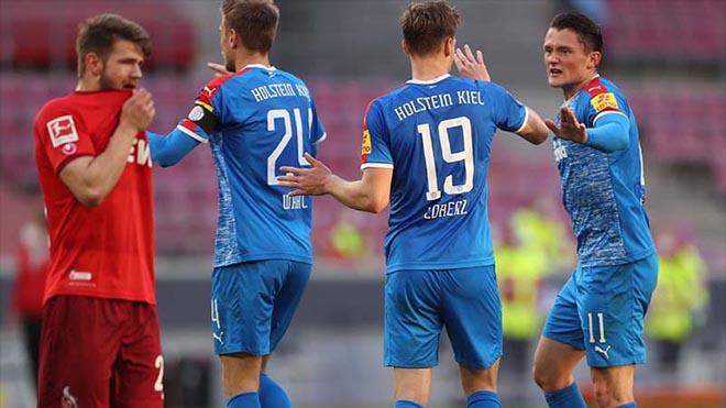 Lịch thi đấu bóng đá, trực tiếp bóng đá, Holstein Kiel vs Cologne, play-off thăng hạng