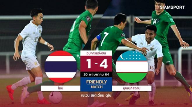 Thái Lan thảm bại Uzbekistan, Việt Nam nên vui hay buồn?