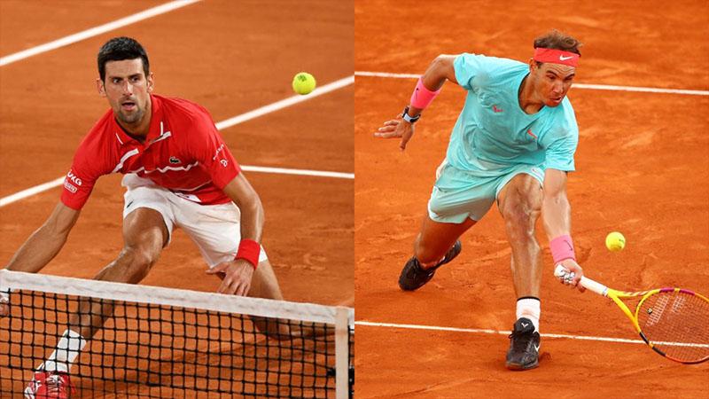 Lịch thi đấu, trực tiếp tennis Roland Garros hôm nay: Chung kết sớm Djokovic vs Nadal.