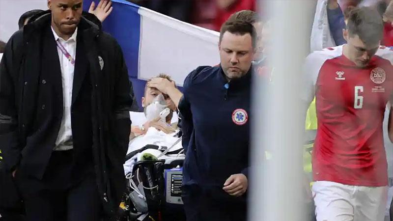 """Toàn bộ diễn biến vụ Eriksen đột quỵ trên sân và thoát chết như một """"phép màu"""""""