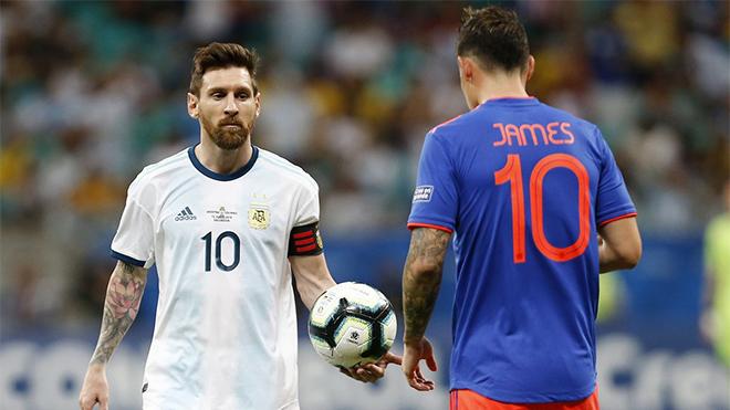 Lịch thi đấu bóng đá hôm nay. Trực tiếp Colombia vs Argentina, Paraguay vs Brazil