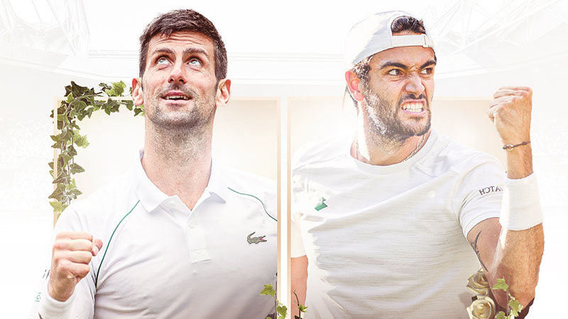 Lịch thi đấu, trực tiếp Wimbledon hôm nay (11/7/2021): Kỷ lục chờ Djokovic