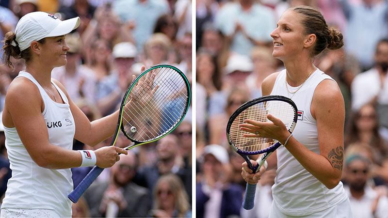 Lịch thi đấu, trực tiếp Wimbledon hôm nay (10/7/2021): Barty và Pliskova tranh ngôi vô địch