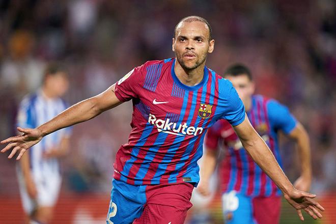 Kết quả bóng đá, Barcelona vs Sociedad, kết quả Barcelona vs Sociedad, kết quả vòng 1 La Liga, video Barcelona Sociedad, Kết quả La Liga, BXH La Liga, Braithwaite, Messi