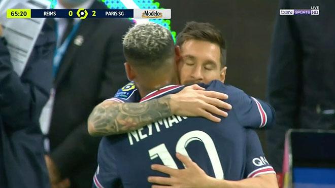 kết quả Reims vs PSG, Video Reims vs PSG, Messi đã ra mắt PSG như thế nào, Messi, PSG, Messi ra mắt PSG, Messi ra mắt Ligue 1, Messi thay Neymar, Kết quả bóng đá, Ligue 1