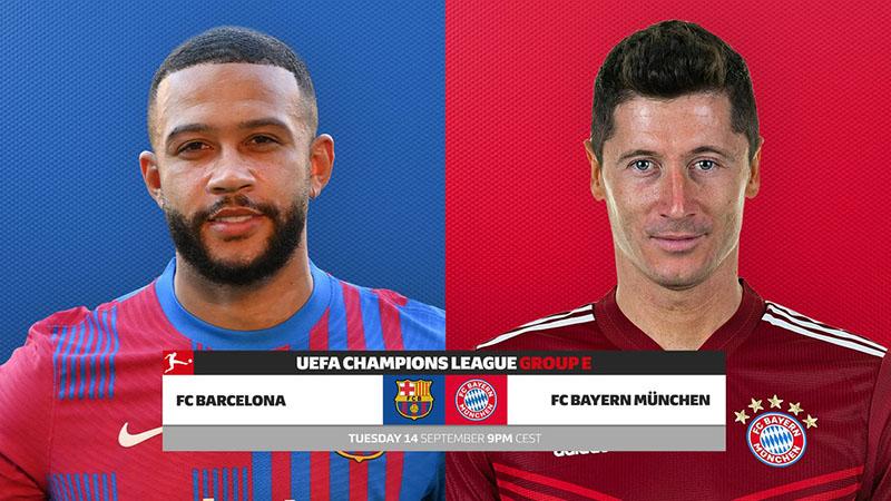 TRỰC TIẾP bóng đá Barcelona vs Bayern, Cúp C1 (02h00, 15/9)
