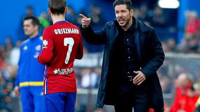 Chuyển nhượng, Chuyển nhượng Barcelona, Griezmann, Griezmann trở lại Atletico, Atletico mượn Griezmann, bóng đá Tây Ban Nha, Atletico Madrid, Simeone, Barcelona, La Liga