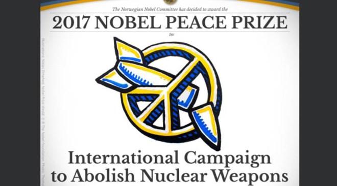 Giải Nobel Hòa bình năm 2017 thuộc về ICAN