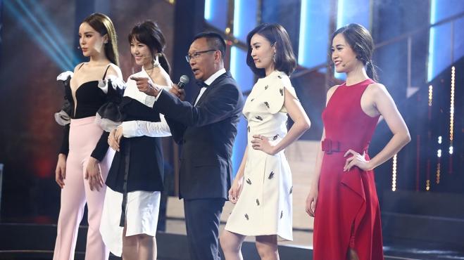 'Bố già' Lại Văn Sâm xuất hiện 'ngầu' bên dàn mỹ nữ Hari Won, Kỳ Duyên...