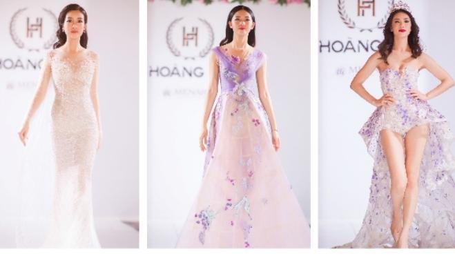 Mỹ Linh, Thanh Tú đọ catwalk với Hoa hậu Hoàn vũ 2017 ở Cannes