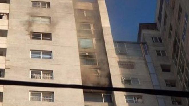 Cháy lớn tại chung cư CT3 Bắc Hà, Hà Đông