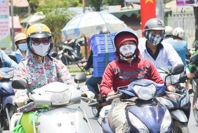 Thanh Hóa đến Quảng Ngãi có nắng nóng với nhiệt độ cao nhất phổ biến 35-36 độ C.