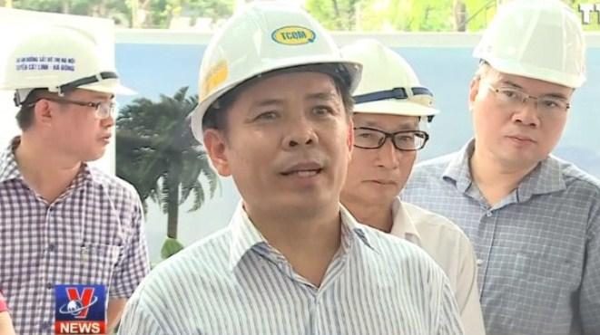 VIDEO: Bộ trưởng GTVT chốt tiến độ đường sắt Cát Linh - Hà Đông cuối năm 2018